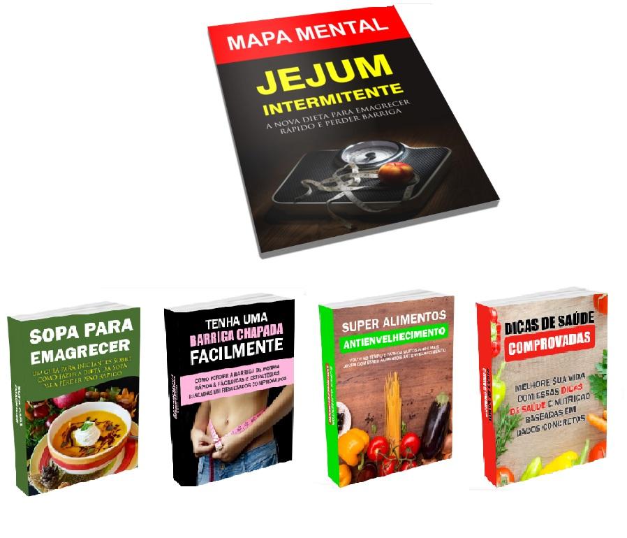 Mapa mental + 4 Ebooks gratuitos
